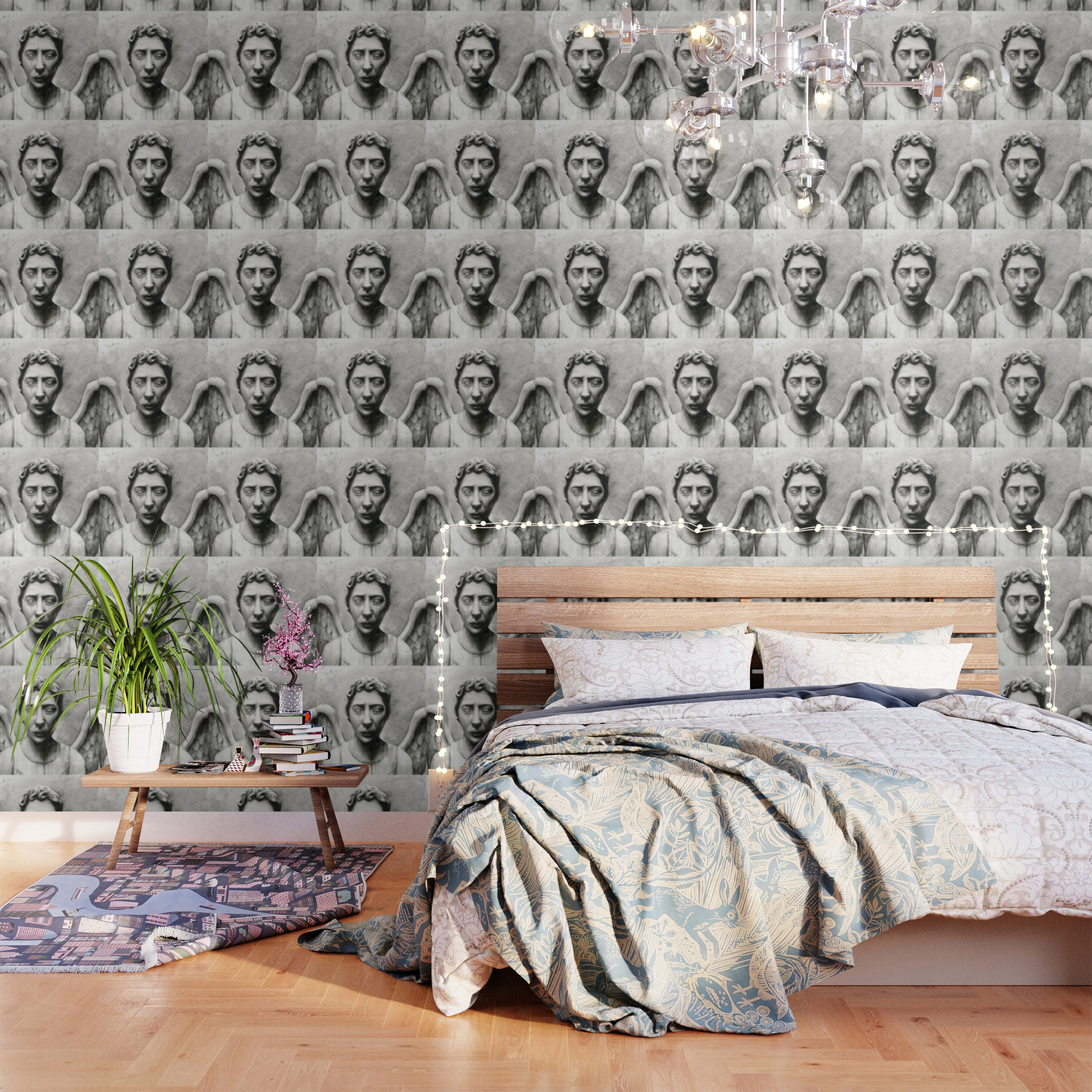 Weeping Angel Wallpaper By Olechka Society6
