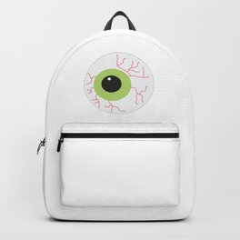 Halloween Scary Eyeball Backpack