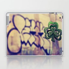 Gritty city shamrock Laptop & iPad Skin