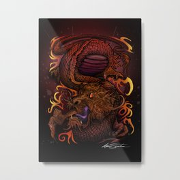 Dragon (Signature Design) Metal Print