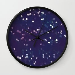 Little hearts  Wall Clock