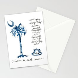 Teatime in South Carolina Stationery Cards