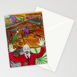 The Great Ringmaster Stationery Cards