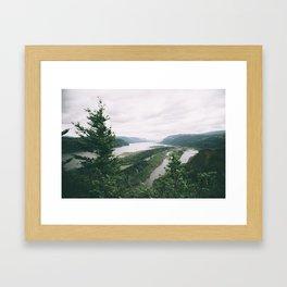 Columbia River Gorge VII Framed Art Print