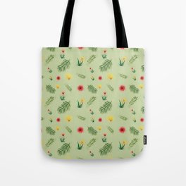 Countryside ferns Tote Bag