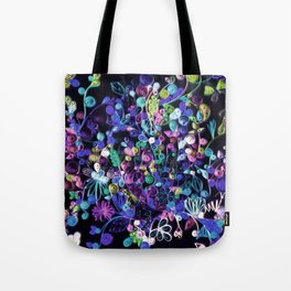 My garden at night 2 Tote Bag