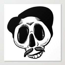 The Most Best Skull Canvas Print