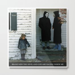 Brand New - The Devil And God Are Raging Inside Me Metal Print