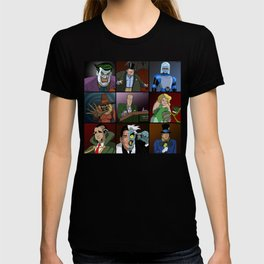 GOP AS BAT MAN ROGUES GALLERY FROM ANIMATED SERIES T-shirt