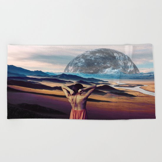 Life on the other Side Beach Towel