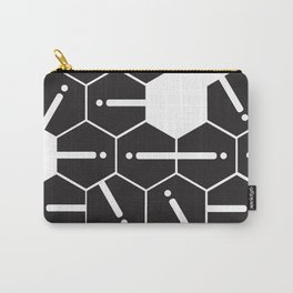 Hexgrid Carry-All Pouch