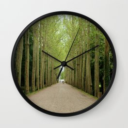 French Forest Wall Clock