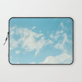 Perfect Blue Summer Sky Nature Photography Laptop Sleeve