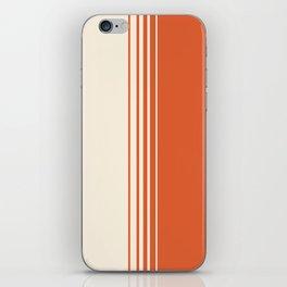 Marmalade & Crème Vertical Gradient iPhone Skin