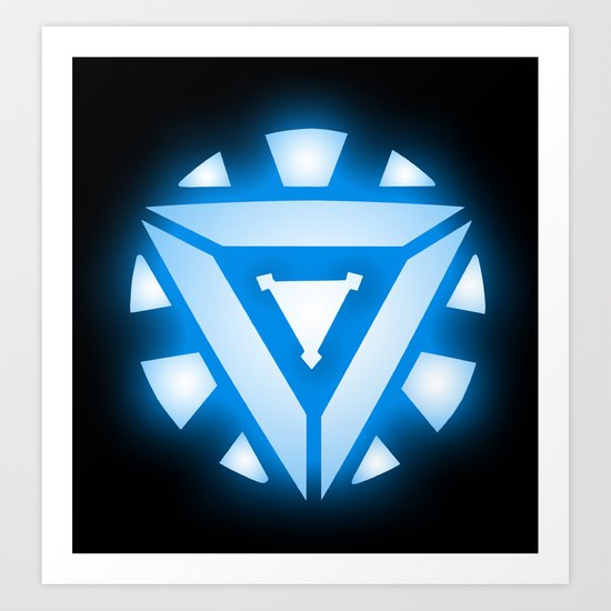 Iron Man: Arc Reactor Art Print