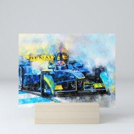 Sebastien Buemi, Formula E Mini Art Print