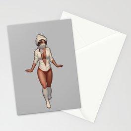 Winter Fashion Stationery Cards