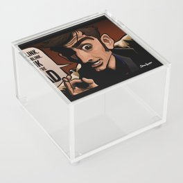 Don't Blink Acrylic Box