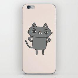 Cranky Cat iPhone Skin