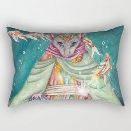 Mouse Warrior Rectangular Pillow