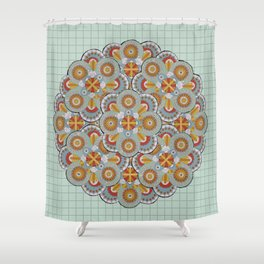 Vemödalen Shower Curtain