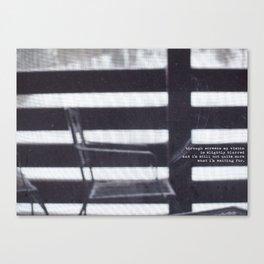 Screen Canvas Print