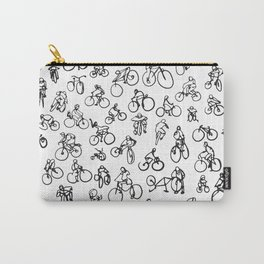 Bicycle Diaries :: Single Line Carry-All Pouch
