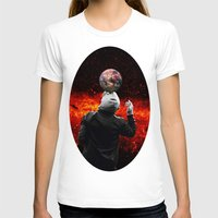 football T-shirts featuring Football by Cs025
