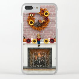 Harvest Hearth Clear iPhone Case