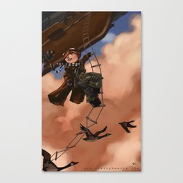 Priority Mail Canvas Print