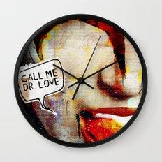Kiss/Gene Simmons/Demon/Dr. Love Wall Clock
