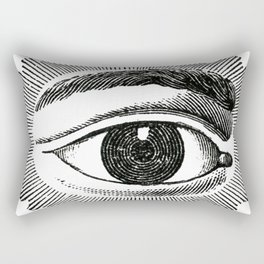 The Eye Rectangular Pillow
