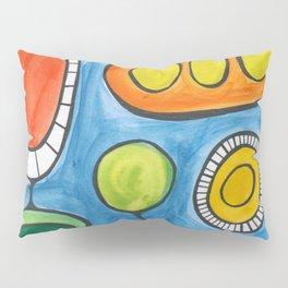 Vegetable Scream Pillow Sham