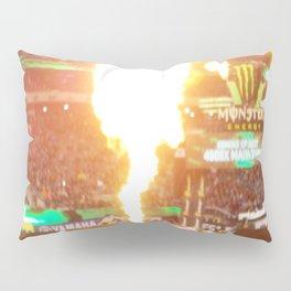 MX Supercross Explosive Fire Pillow Sham