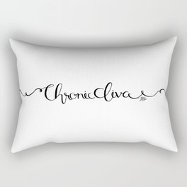 Chronic Diva Rectangular Pillow