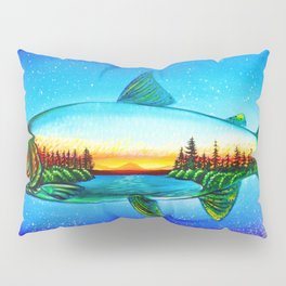 Steelhead sunrise Pillow Sham