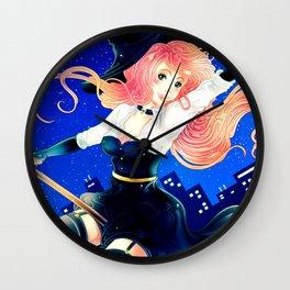 Bright Halloween Wall Clock