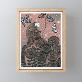 Night Garden (1) Framed Mini Art Print