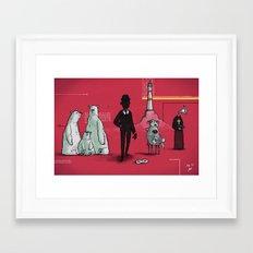 #77 - Device 6 Framed Art Print