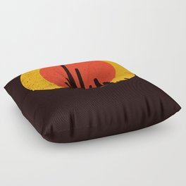 Death Valley Floor Pillow