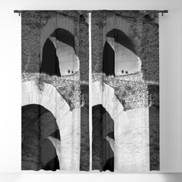 Arches Palatine Hill Rome Blackout Curtain