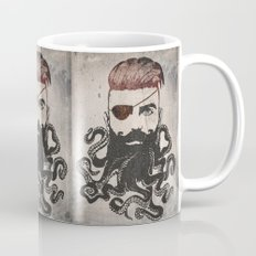 Black Beard Mug