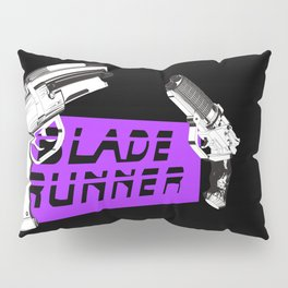Time to die Version Neon Purple Pillow Sham