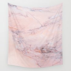 Blush Marble Wall Tapestry