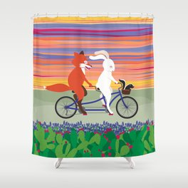 Hill Country Joyride Shower Curtain