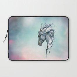 Aqua horse Laptop Sleeve