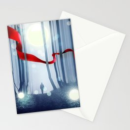 Forest Ribbon Stationery Cards