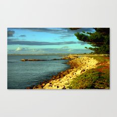 Rocky Foreshore Canvas Print