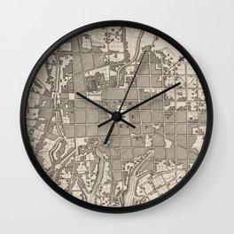 Vintage Map of Quito Ecuador (1764) Wall Clock