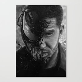 Eddie Brock/Venom Canvas Print